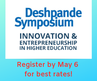 Register for the 8th Annual Deshpande Symposium by May 6 for best rates.